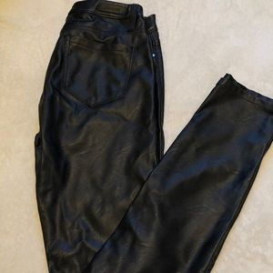 "Blank NYC ""leather"" pants. Never been worn"